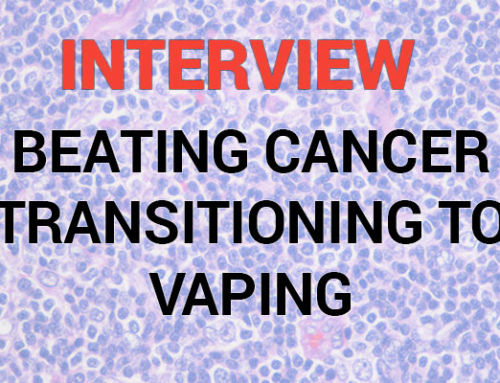 Interview: Beating cancer and switching to vaping – The story of Kevin Rhodes
