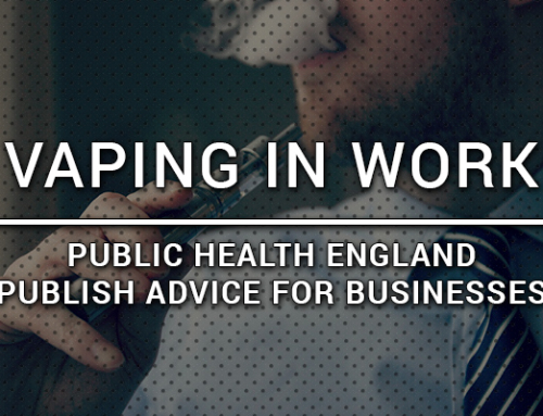 Vaping in work & public – Advice for business policies from Public Health England